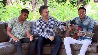 Entrevista com a dupla Juliano e Mariano - Visita Record