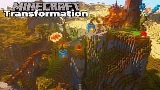 Savannah Biome Transformation : Episode 1 : Minecraft 1.15 Timelapse [WORLD DOWNLOAD]