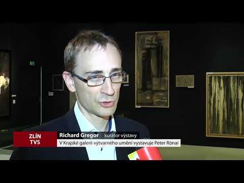 TVS: Zlín - Krajská galerie - Výstava Peter Rónai