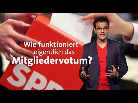 Wie funktioniert das SPD-Mitgliedervotum?