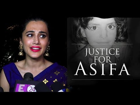 Taapsee Pannu Gets Emotional On Asifa Bano | Kathu