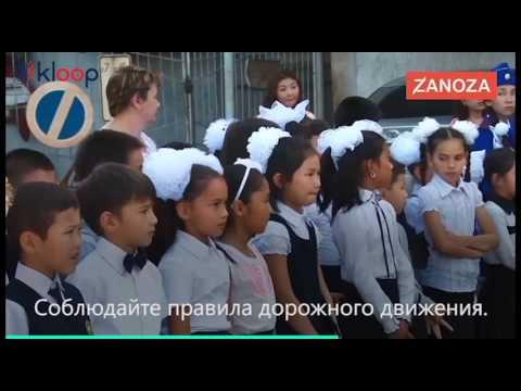 Депутат приехал на тонированном «Мерседесе» рассказывать детям о ПДД (видео)