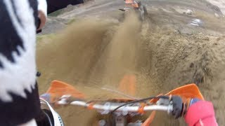 1. First ride with the new bike! KTM 200 SX - Gopro HD