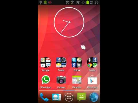 Video of Jelly Bean 4.3 Premium Theme