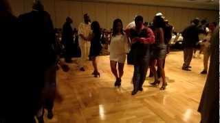 2012 - Lesa and Kammal, Ballroom dancing at the Las Vegas Jam 2012
