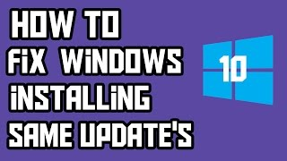 How To Fix Windows 10 Pc Installing Same Updates Twice Hello Guys So in today's videos i am gonna  show you how you can stop Windows from installing the same updates over and over again on windows 10.Subscribe For More Interesting Videos --- http://goo.gl/2xya8aSupport Me To Make More Awesome Videos--- https://www.paypal.me/AbdulSufiyanMusic Is From NCS --- https://www.youtube.com/user/NoCopyrightSoundsMy Outro Template Is From --- http://goo.gl/d6RCli__________          (◑‿◐) ▌ šocial ▌ (◑‿◐)__________➨ My Websitehttp://www.technoprotocol.com➨ Facebook 凸(¬‿¬)凸https://www.facebook.com/technoprotocolhttps://www.facebook.com/theabusufiyangeek➨ Instagram https://Instagram.com/abusufiyangeekhttps://Instagram.com/technoprotocol➨ Twitter http://twitter.com/abusufiyangeekhttps://twitter.com/TechProtocolweb________________________________________