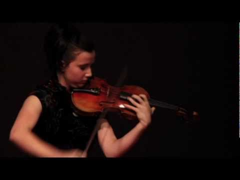 TEDxTC - Sedra Bistodeau - Violin Performance: Novacek - Perpetuum Mobile
