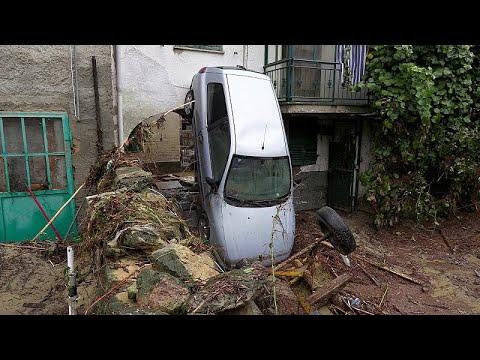 Video - Ένας νεκρός από τις σφοδρές καταιγίδες στην Ιταλία