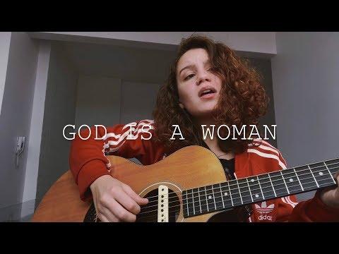 God is a woman - Ariana Grande (cover) Carol Biazin (видео)