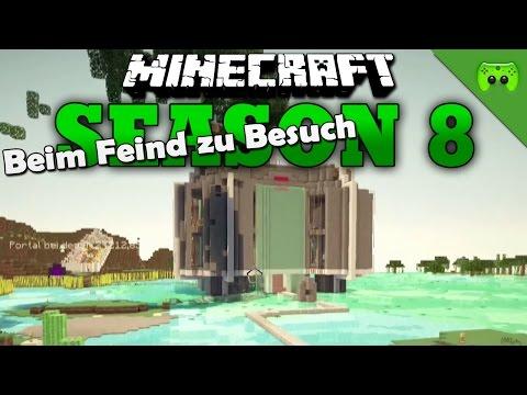 BEIM FEIND ZU BESUCH «» Minecraft Season 8 # 244 | HD