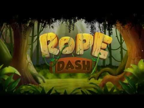 Rope Dash (Android & iOS) Game - Red Apple