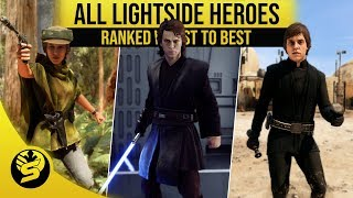 All Heroes Ranked from worst to best! - STAR WARS Battlefront 2