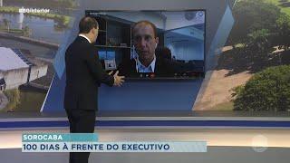 Rodrigo Manga, prefeito de Sorocaba, analisa os 100 primeiros dias à frente da prefeitura