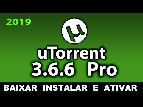 Como baixar e instalar Utorrent Pro 3.6.6 Versão 2019