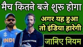 India vs New Zealand मैच का क्या हुआ | कौन जीता मैच ! क्या मैच रदद् हो गया