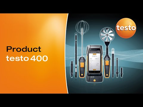 testo 400: Unparalleled IAQ monitoring instrument for any ap