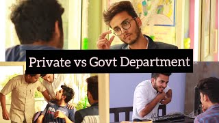 Video PRIVATE VS GOVERNMENT DEPARTMENT - | Elvish Yadav | MP3, 3GP, MP4, WEBM, AVI, FLV November 2017
