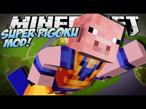 Minecraft | SUPER PIGOKU MOD (Harness the Power of BACON!!) | Mod Showcase