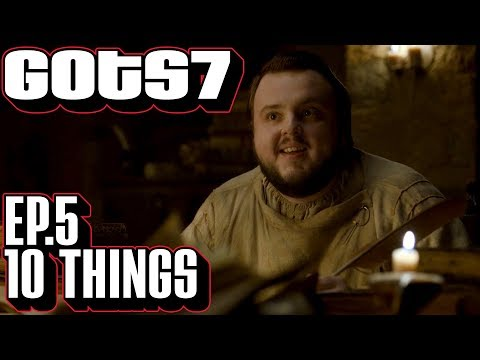 [Game of Thrones] S7 E5 Ten Things You Might Have Missed | Season 7 Episode 5 Eastwatch