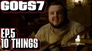Game of Thrones season 7 episode 5 ten interesting things you might have missed. Callbacks in GoT s7 e5 Eastwatch. Please...