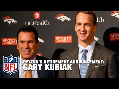 Video: Gary Kubiak Shares Story about Peyton Manning's Drive to Return for Playoff Run | NFL News