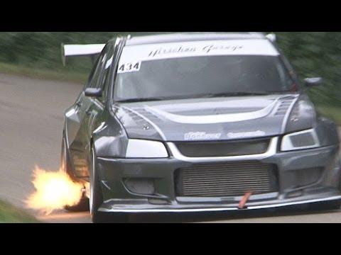 mitsubishi lancer evo da 600 hp!