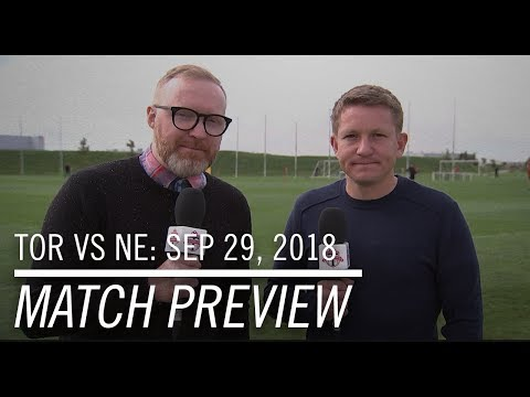 Video: Match Preview: New England Revolution at Toronto FC