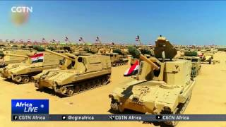 Egyptian President Abdel Fattah EL Sisi has opened the country's biggest military base -- marking the revolution that transformed ...