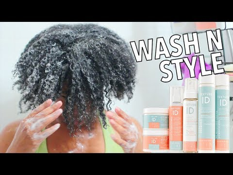 What's The Hype | Texture Id On 4b 4c Hair - Wash N Style