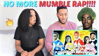 Mumble ( Kendrick Lamar - Humble Parody) REACTION!!!!