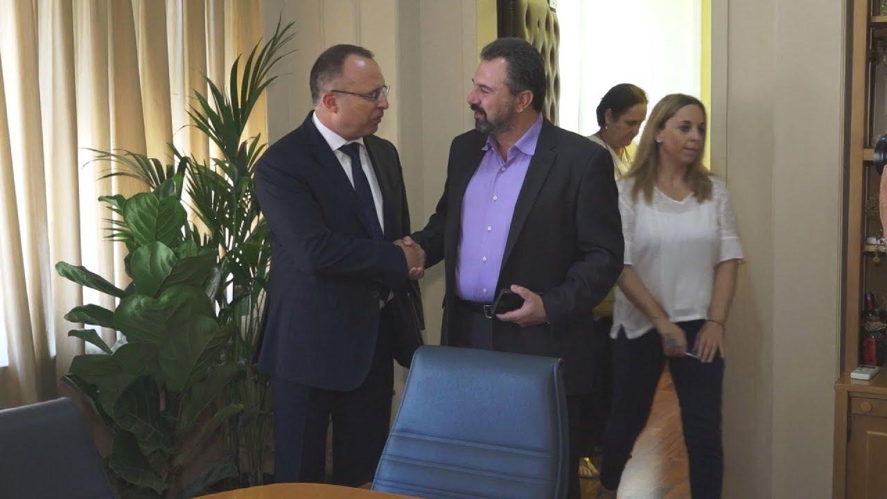 Συνάντηση υπ. Αγροτικής Ανάπτυξης Στ. Αραχωβίτη με τον Βούλγαρο ομόλογό του