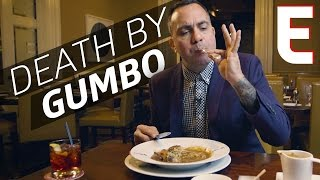 $18 Stuffed Quail Gumbo at Restaurant R'evolution in New Orleans — The Meat Show by Eater