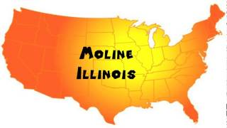 Moline (IL) United States  city images : How to Say or Pronounce USA Cities — Moline, Illinois