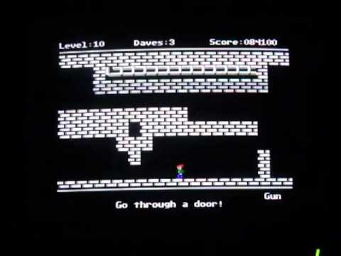 Dangerous Dave Goes Nutz Game Review (Apple II)