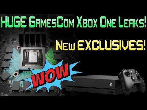 MASSIVE Xbox One Gamescom Leaks! Brand New EXCLUSIVE Games! WOW!