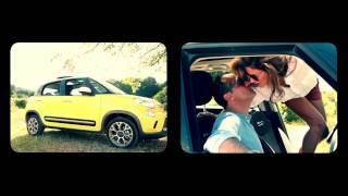 GQ Türkiye'nin FIAT 500L ile Tülin Şahin ve Memet Özer Çekimleri
