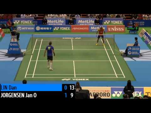 QF - Jan O Jorgensen vs Lin Dan