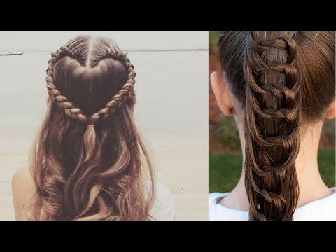 Easy hairstyles - Easy Beautiful Hairstyles Tutorials  Best Hairstyles for Girls # 13