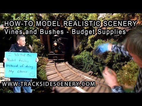 What You Need To Know About Model Railway Scenery Construction
