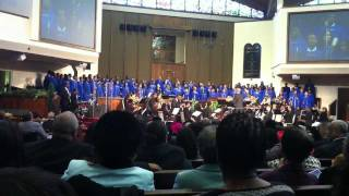 Aeolians Sing For Dr. Carlton P. Byrd Installation @ OU Church