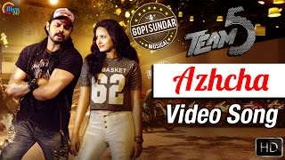Azhcha Song Video From Malayalam Movie Team 5