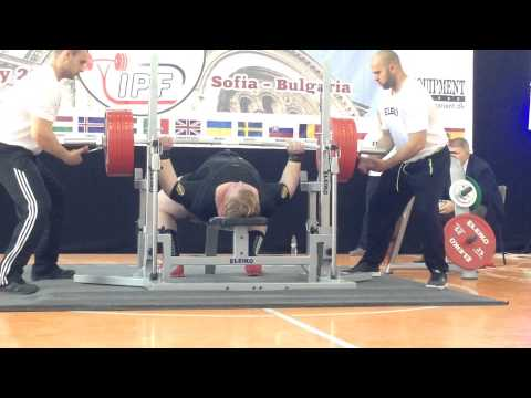christensen - 485kg squat (WR) - 337.5kg bench press - 377.5kg deadlift http://www.trainingblog.com.