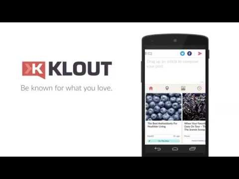 Video of Klout