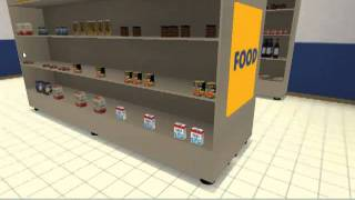 NeuroVr 2.0: new virtual environment Supermarket