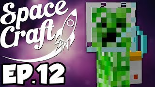 SpaceCraft: Minecraft Modded Survival Ep.12 - Moon Dungeon!
