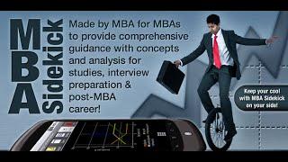 MBA Sidekick YouTube video