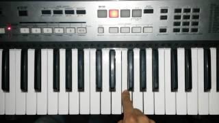 Buen siervo fiel Julio Elias melodía en teclado nota FA mayor DSRPianista