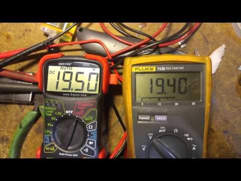 Innova 3320 vs. Fluke 75 III