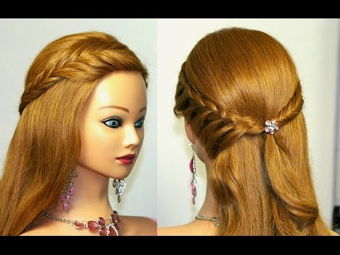Easy bridal, prom hairstyles for long hair