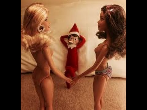 50 Naughty / Bad Elf On The Shelf  - Caught  Partying On Camera - Naughty Elf Pictures -Adults Only